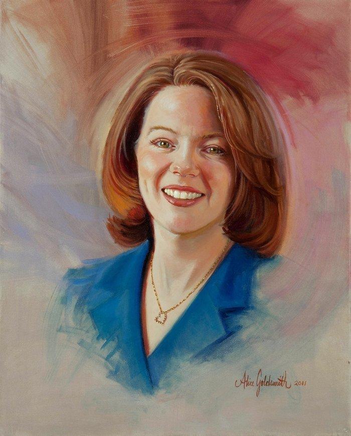 portrait artist alice goldsmith