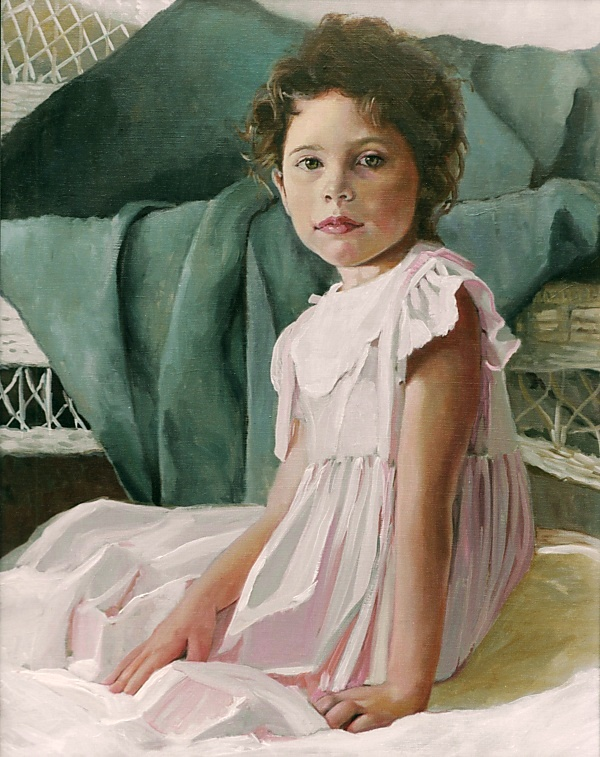 A Stroke of Genius Portrait Artists: Portrait Painter Linda Vise